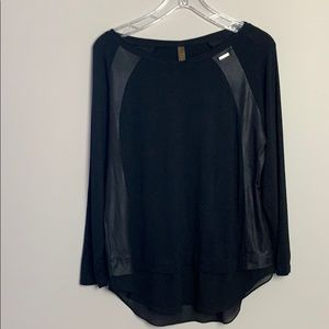 Danny be black tunic top.